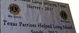 HOW COOPERATION AMONG VARIOUS LIONS DISTRICTS BROUGHT HELP TO HURRICANE VICTIMS.