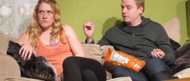"""Uncertainty in Palo Alto. STAGE REVIEW: """"Or Current Resident"""" by Joan Bigwood"""