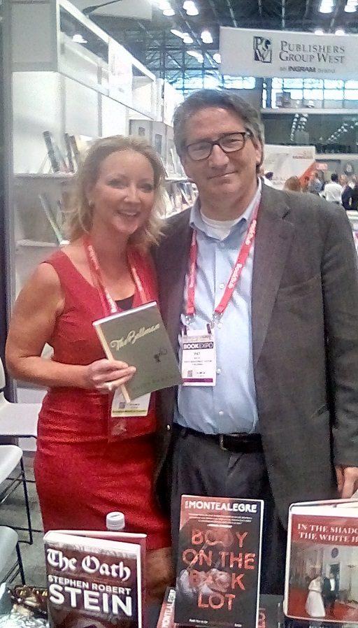 Heidi Barnes with her editor