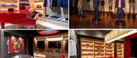 'Quando Uè Uè incontra Aò': la nuova boutique Isaia a Roma