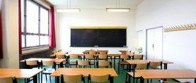 Il Problema delle aule scolastiche sempre piu` vuote