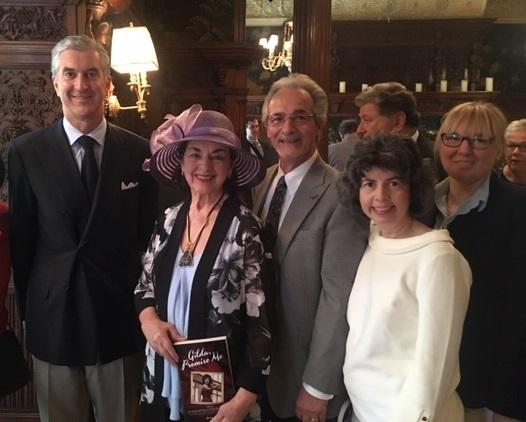 From the left: The Hon. Francesco Genuardi, Dr. Gilda Battaglia Rorro Baldasssari, Dr. Bob DiBiase, Dr. Mary Rorro, and Dr. Maria Z