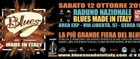 """SABATO 12 OTTOBRE """"BLUES MADE IN ITALY"""" FESTEGGIA LA SUA DECIMA EDIZIONE.  GRANDE ATTESA PER L'EVENTO ESPLOSIVO OSPITATO DA AREA EXP DI CEREA (VR)"""
