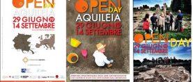 """""""Open Day"""" delle aree archeologiche e dei cantieri di scavo ad Aquileia"""