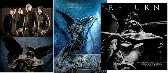 Il Cimitero Monumentale della Certosa accompagna il ritorno sulle scene del celebre gruppo musicale My Chemical Romance