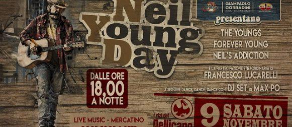 NEIL YOUNG DAY: IL 9 NOVEMBRE IN EMILIA SI CELEBRA IL GRANDE ROCKER CANADESE