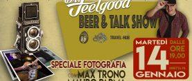 DR. FEELGOOD BEER & TALK SHOW Max Trono e Mauro Parma La Fotografia Musicale martedì 14 gennaio al John Barleycorn di Milano