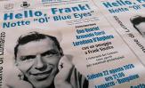 """""""HELLO FRANK!"""": TORNA A LUMARZO LA SERATA IN OMAGGIO ALLE ORIGINI LIGURI DI SINATRA"""