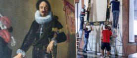 È iniziato oggi il viaggio del Ritratto di Gonfaloniere di Artemisia Gentileschi dalle Collezioni Comunali d'Arte di Bologna verso la National Gallery di Londra.
