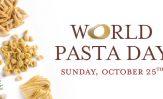 Il 25 ottobre è il WORLD PASTA DAY!!