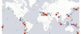 Le acque sotterranee dell'Appennino segnalano i terremoti dell'altra parte del mondo
