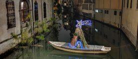 Anche i canali storici di Padova festeggiano il Natale!!