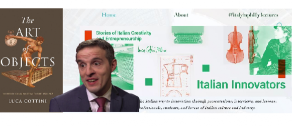 Italian Innovators: A podcast, a website, a classroom about Italy and Italians… An exclusive interview with Luca Cottini