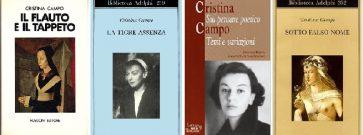 Cristina Campo  La mano, la bellezza, l'altra terra. 5 liriche per un addio