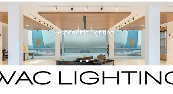 Strateres Welcomes WAC Lighting for the AV & CI Channel