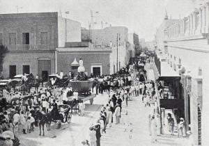 Carnavales a principios del siglo XX.