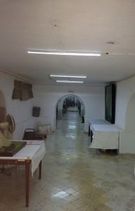Sótano del Palacio, actual resguardo de colecciones.