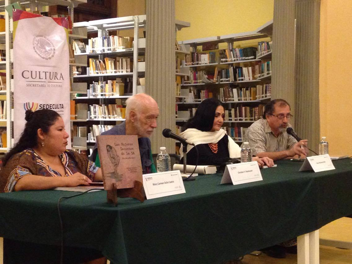 De izquierda a derecha: Carmen Ávila, Christian Rasmussen, Elena Bolio y Jorge Cortés Ancona.