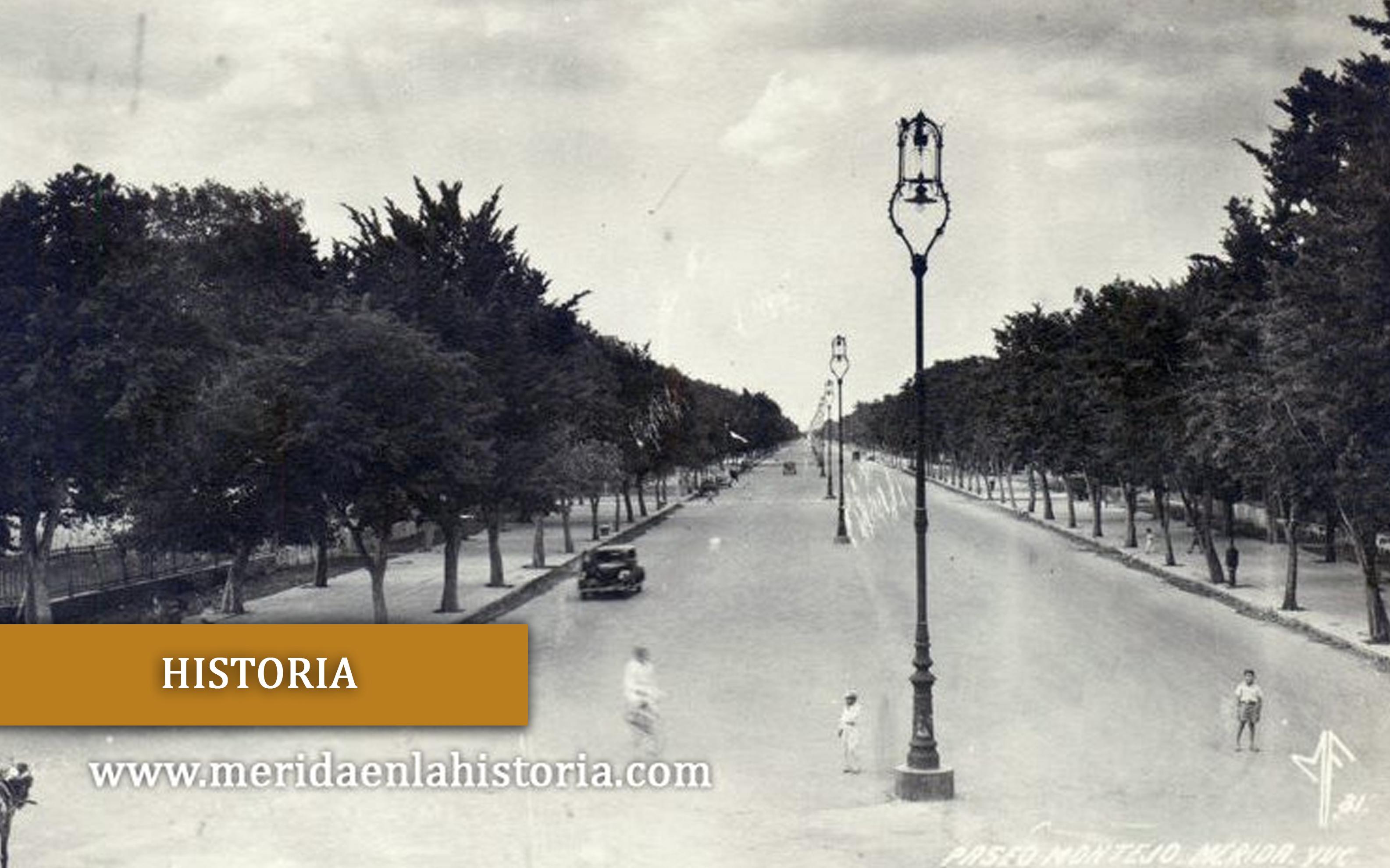 Historia de Paseo de Montejo