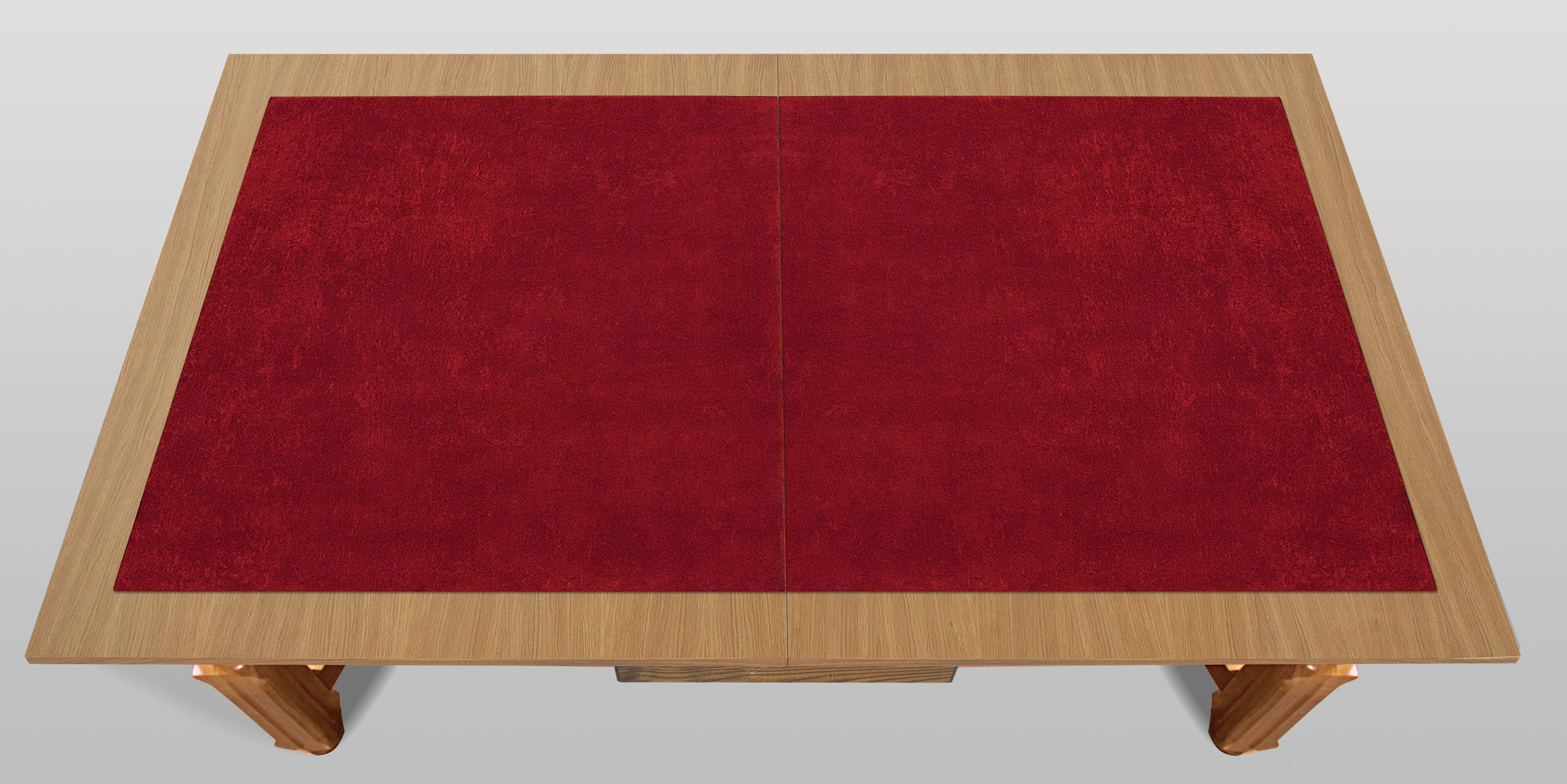 Red Poker Table Top