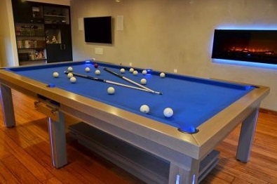 New York convertible dining convertible billiard pool table