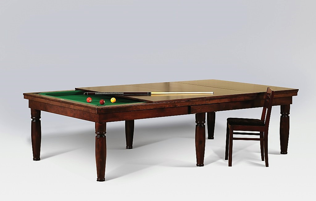 Convertible dining fusion pool table Constantine by Vision Billiards