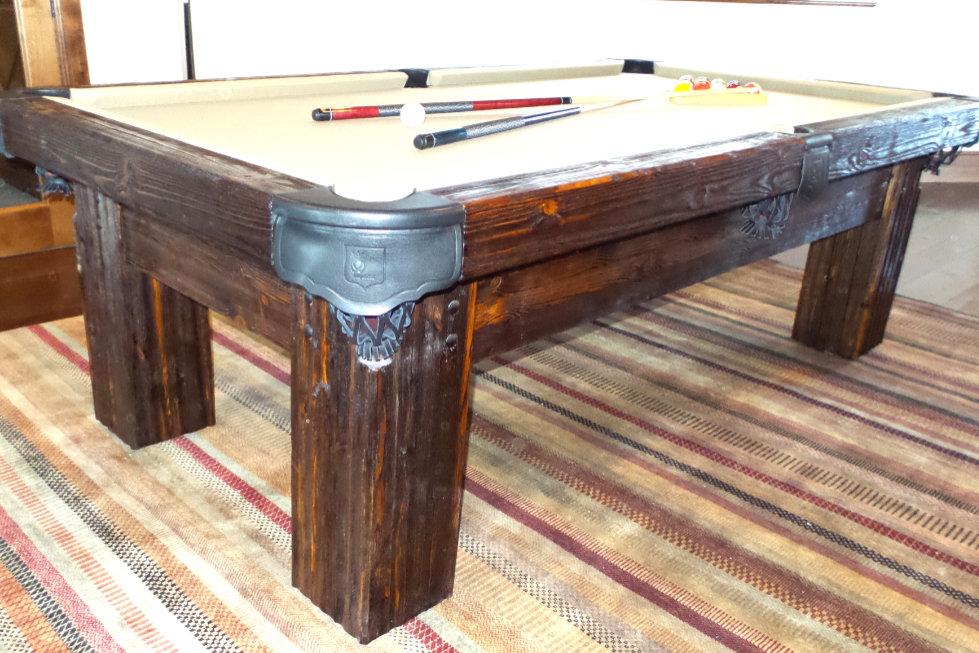Ranch Rustic Pool Table, Utah
