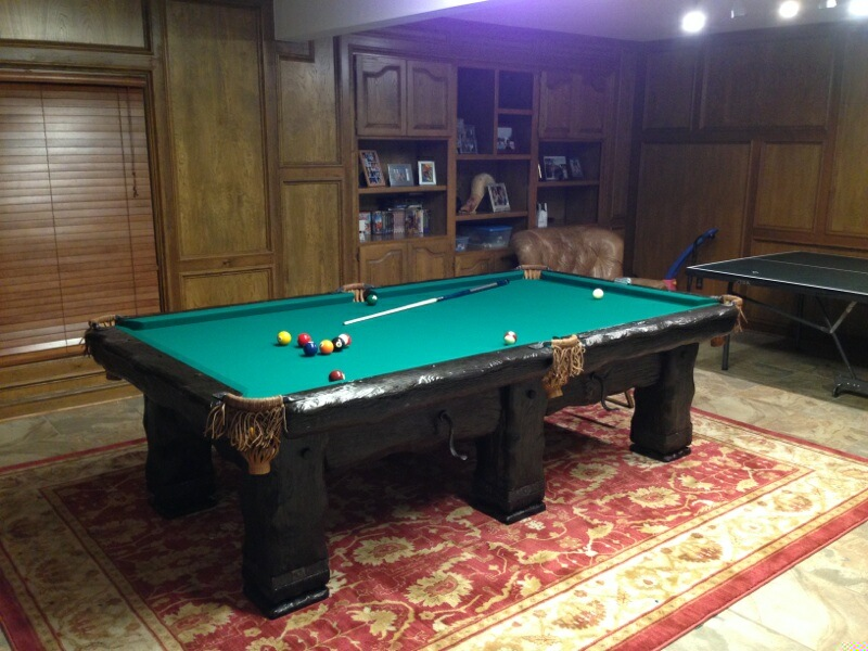 Grizzly Rustic Pool Table, Utah