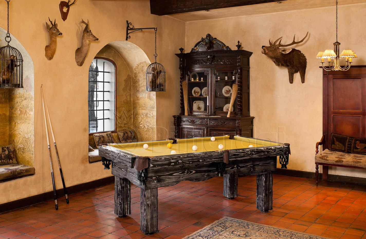 Artemis Rustic Pool Table, Lithuania