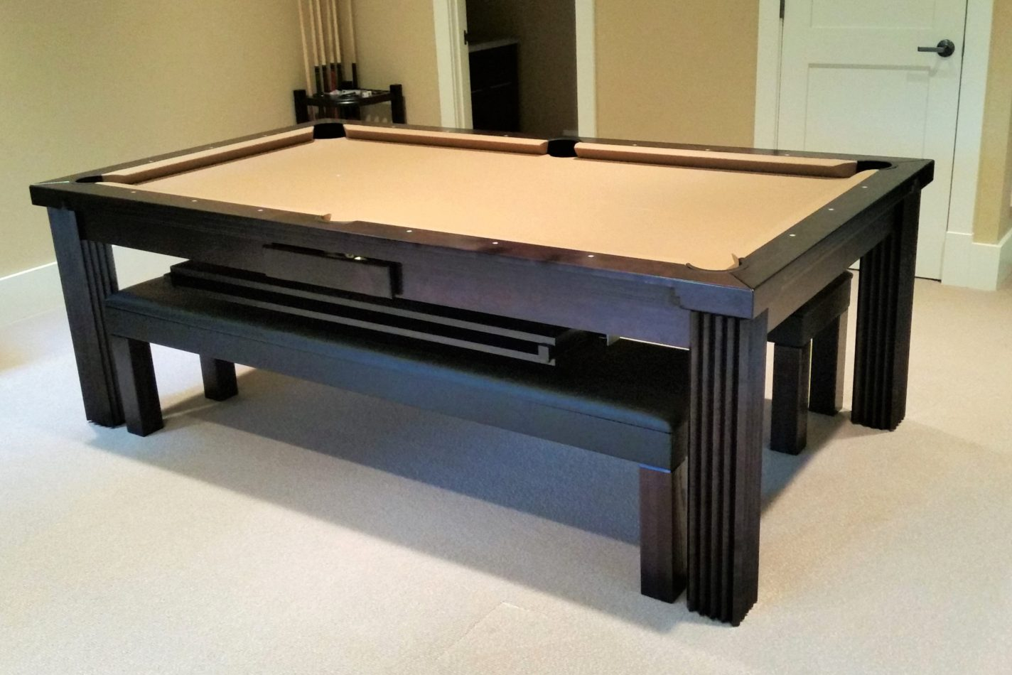 Toledo Convertible Pool Table, Washington