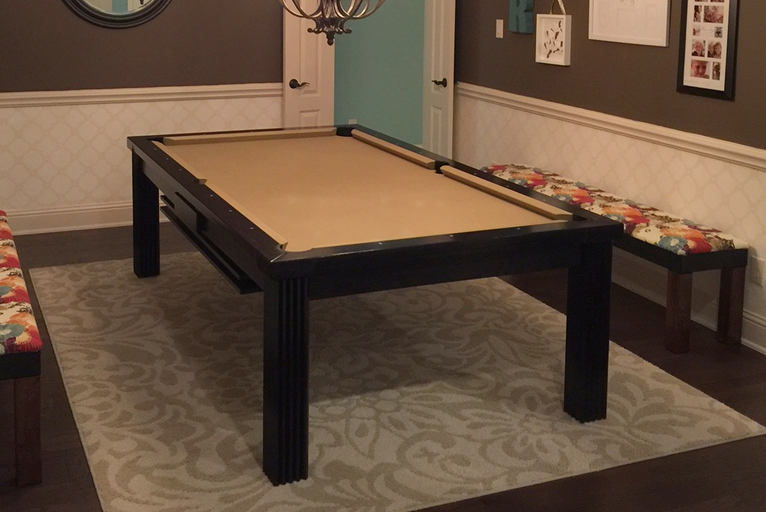 Toledo Convertible Pool Table, Texas