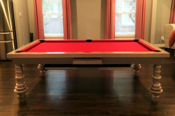 Toronto Convertible Pool Table, Texas