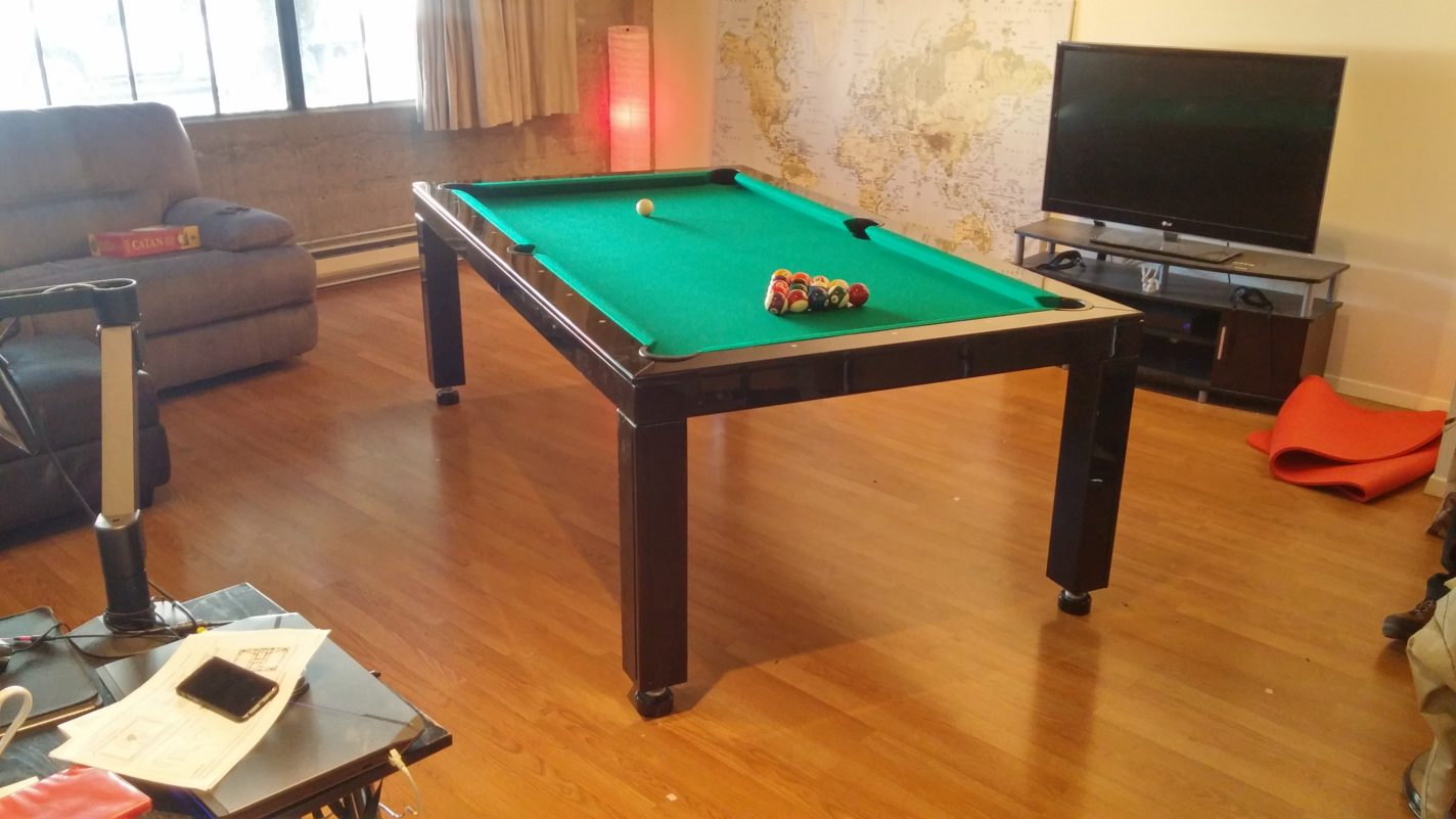 Vision Convertible Pool Table, California