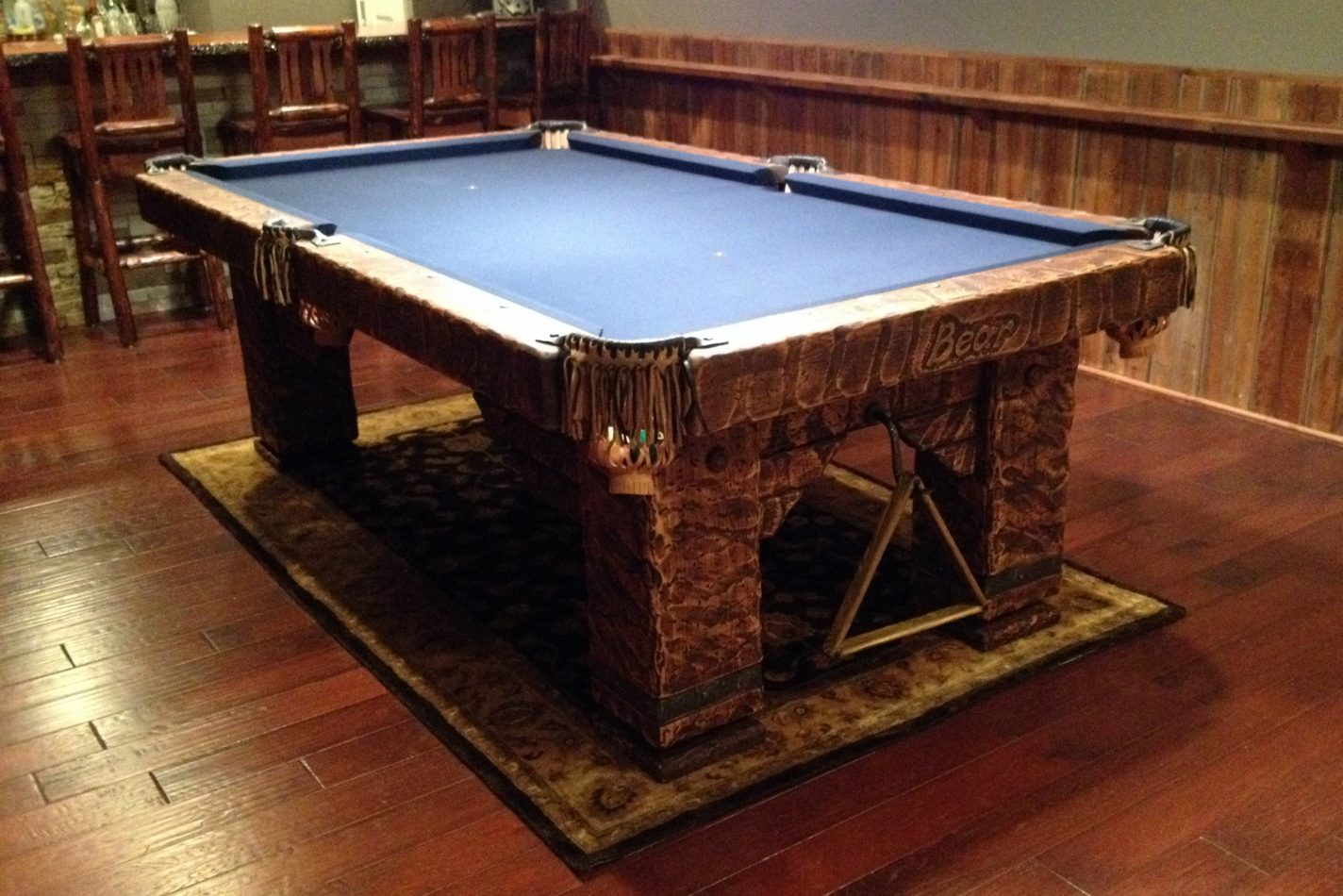 Wild West Rustic Pool Table, New Jersey