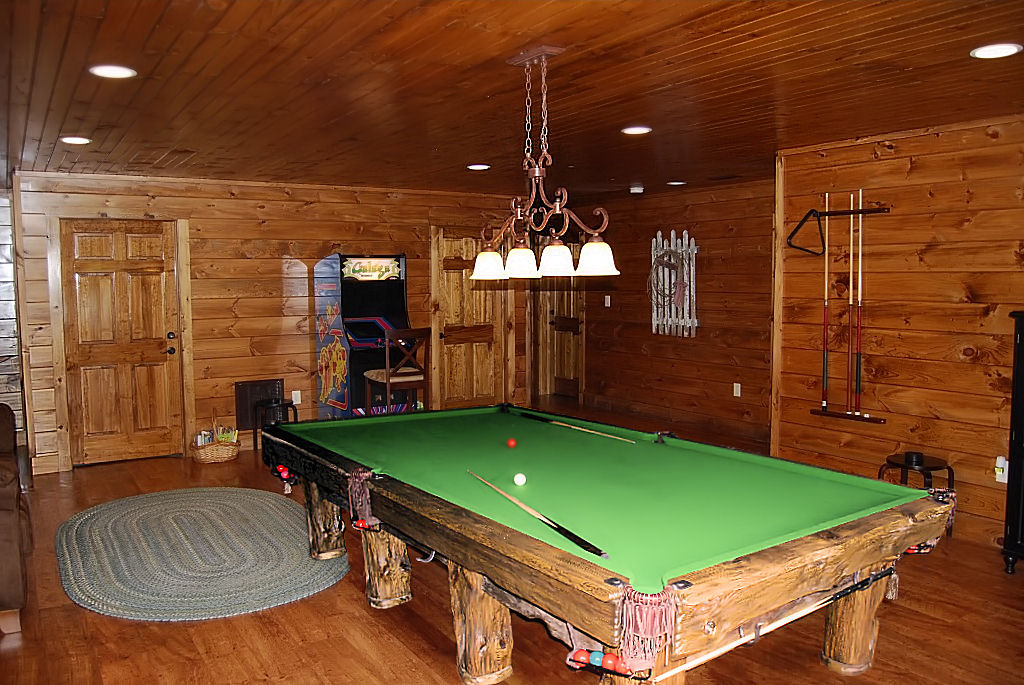 Wilderness Rustic Pool Table, Colorado