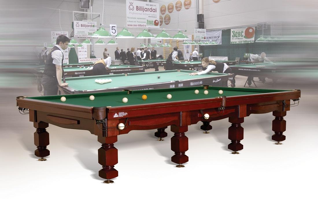 Russian Pyramid Billiard table Provijus Deco 12 ft size
