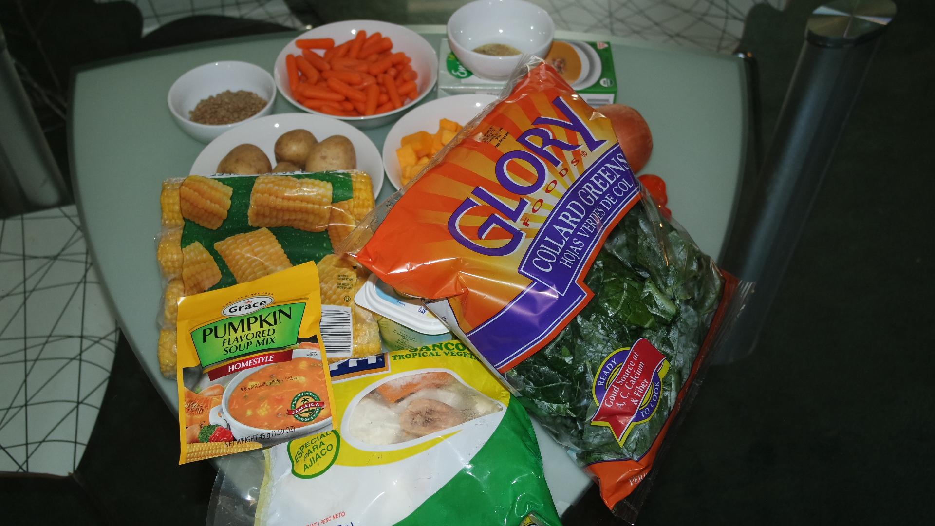 Pumpkin Flavored Veggie Soup