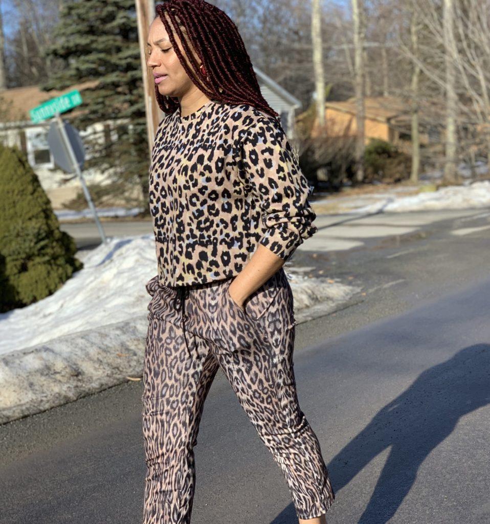 Zara Animal Print Pants