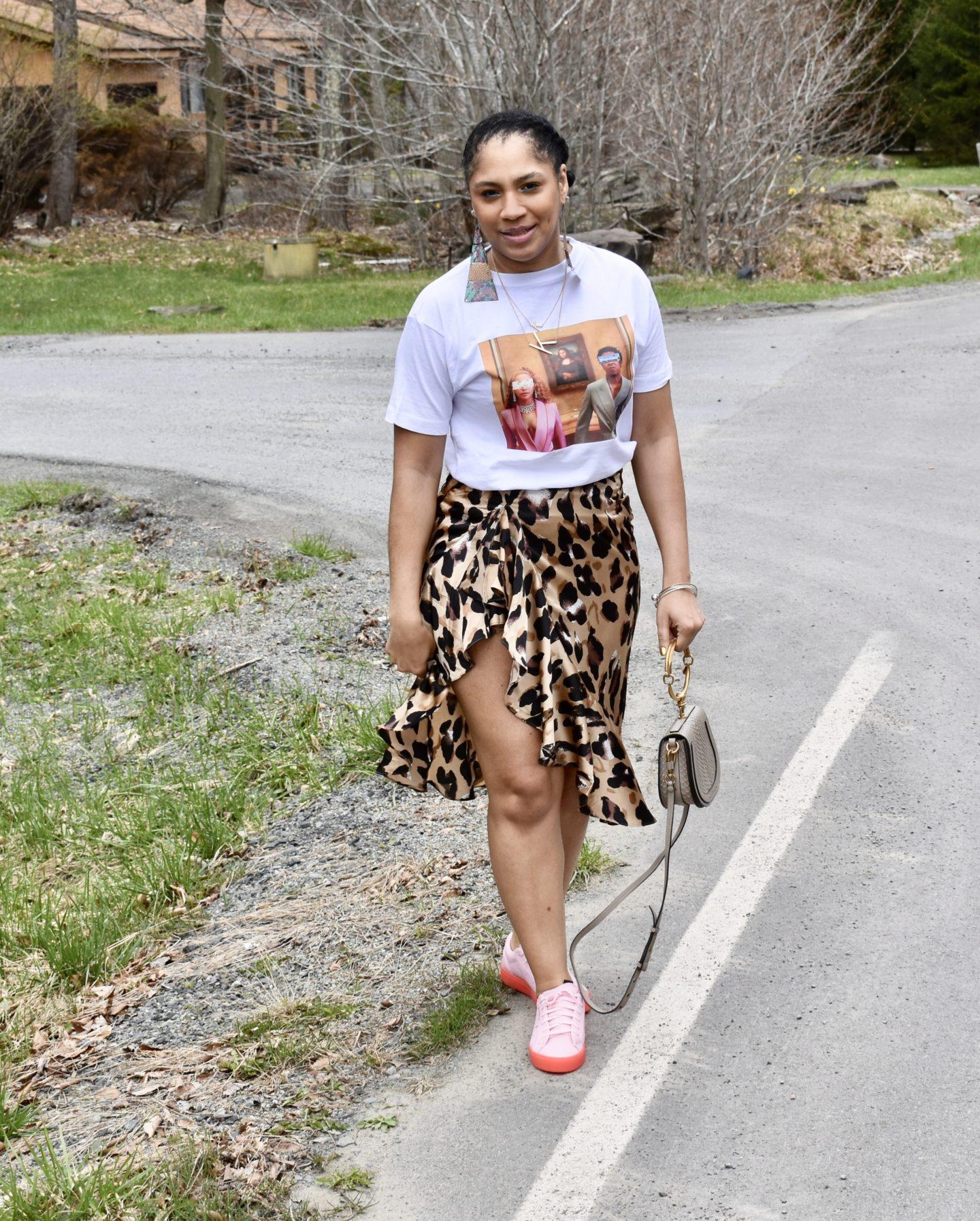 Nasty Gal So Fierce Leopard Skirt