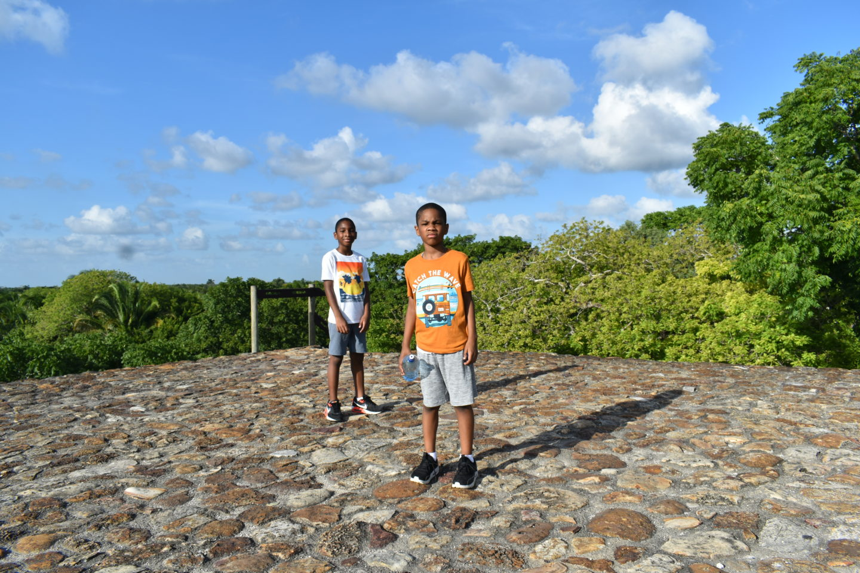 Altun Ha, Belize City
