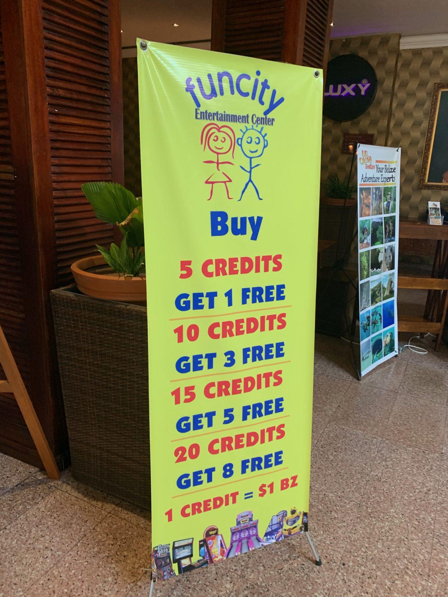 Fun City Arcade Center, Belize