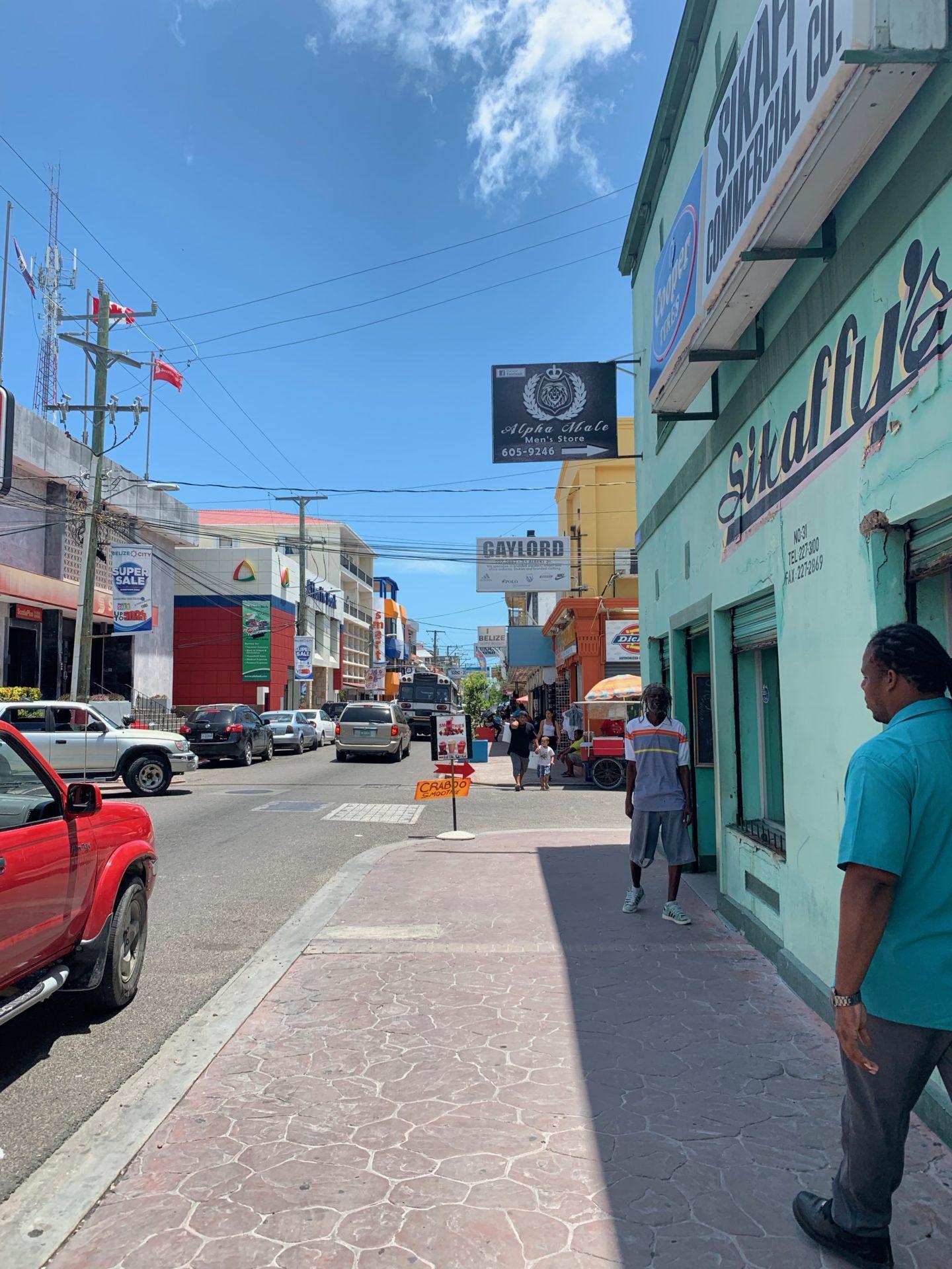 Albert Street, Belize City