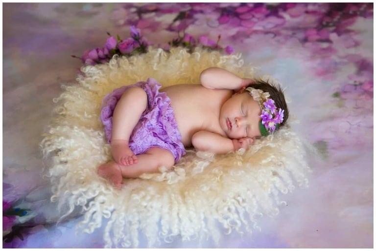 Oakton Newborn Studio Photographer