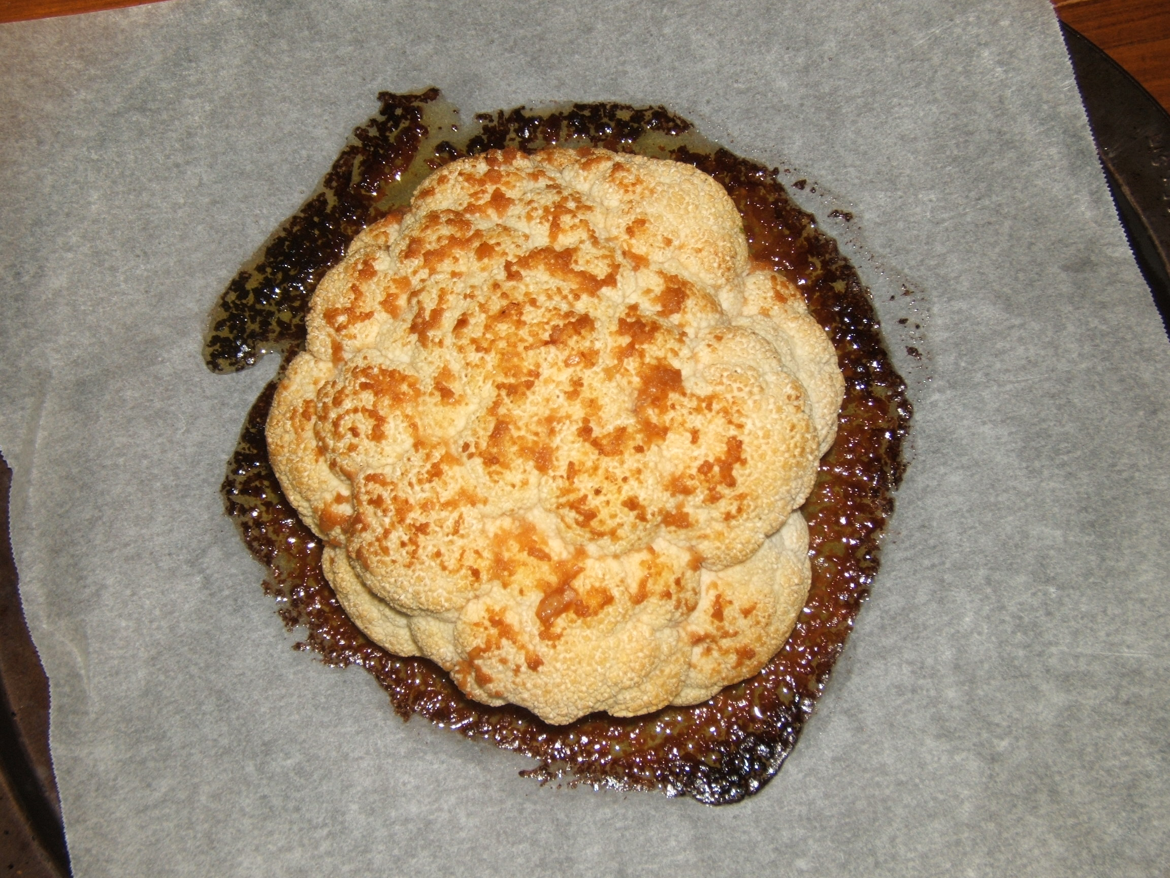 Mama Hogg's Whole roast Cauliflower