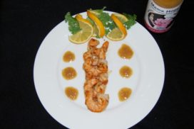 Mama Hogg's Marinated Prawns