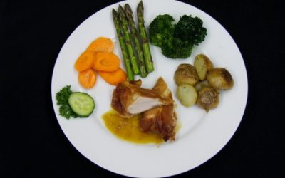Mama Hogg's Plated Prosciutto Chicken Breast