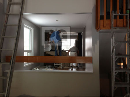 interior painting of dining room and living room by PG PAINT & DESIGN painters