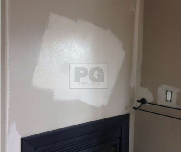 repainting of entire wall not just a touch up paint job due to drywall repair