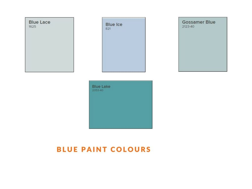 blue paint colours used for interior painting by house painters in Ottawa PG Paint & Design
