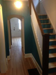 interior painting of hallway in ottawa by painters PG PAINT